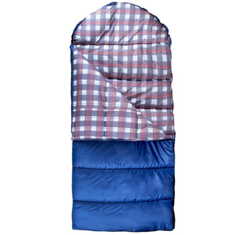 Suisse Sport 25°F Tahoe Sleeping Bag - Semi-Rectangular in Blue