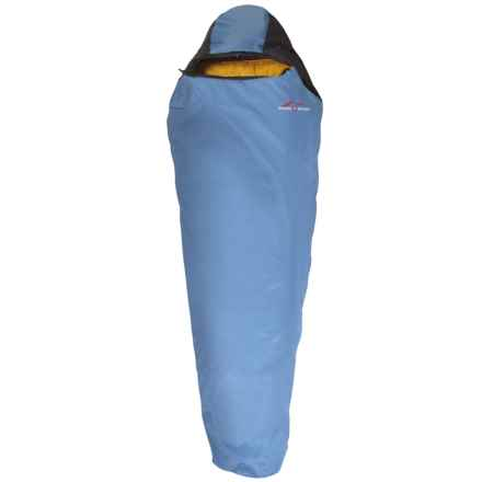 Suisse Sport 30°F Adventurer Sleeping Bag in Blue/Yellow - Closeouts