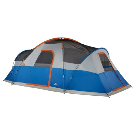 Suisse Sport Rustler 3-Room Family Tent - 10-Person 3-Season  sc 1 st  Sierra Trading Post & Suisse Sport Rustler 3-Room Family Tent - 10-Person 3-Season ...