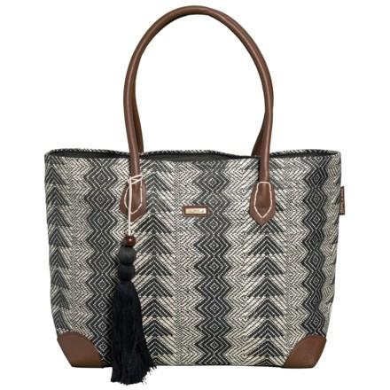 e42742dbd0c5c4 Sun N Sand Maritza Shoulder Tote Bag (For Women) in Black - Closeouts