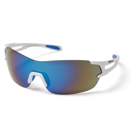 ffd6bc5fda7f Suncloud Airway Rimless Mirror Sunglasses - Polarized (For Men and Women)  in White/