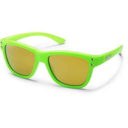 Suncloud Carob Sunglasses - Polarized (For Kids) in Green/Yellow Mirror - Closeouts