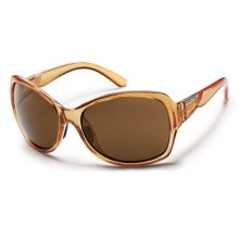 Suncloud Cassandra Sunglasses - Polarized (For Women) in Ginger/Brown - Closeouts