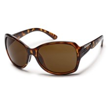 Suncloud Cassandra Sunglasses - Polarized (For Women) in Tortoise/Brown - Closeouts
