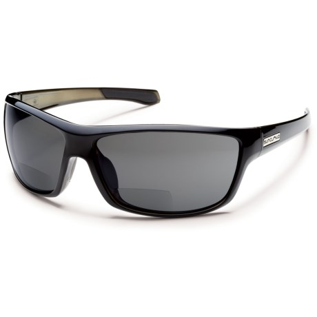 Suncloud Conductor Reading Glasses - Polarized in Black/Polar Gray
