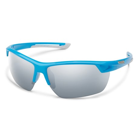 19224e47d2647 Suncloud Contender Mirror Sunglasses - Polarized (For Men) in Blue Silver