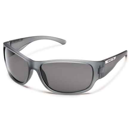 Suncloud Convoy Sunglasses - Polarized in Matte Gray/Gray - Closeouts
