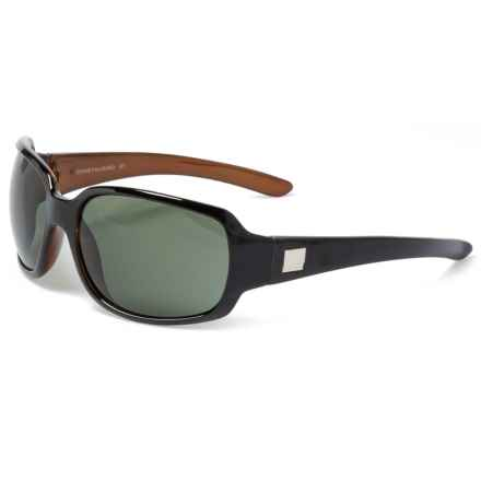 7394bf80052 Suncloud Cookie Sunglasses - Polarized (For Women) in Black Backpaint Gray