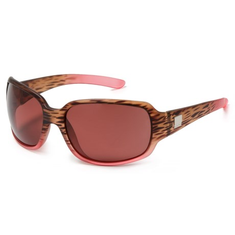 Suncloud Cookie Sunglasses - Polarized Lenses in Matte Tortoise Pink Fade/Purple Rose