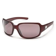 Suncloud Cookie Sunglasses - Polarized Lenses in Merlot Laser/Rose - Closeouts