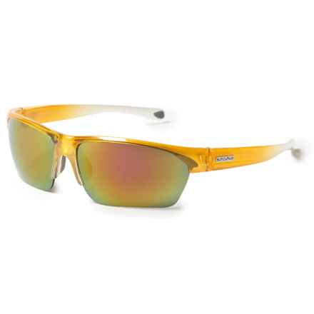 Suncloud Detour Sunglasses - Polarized in Yellow Fade/Purple/Pink Mirror - Closeouts