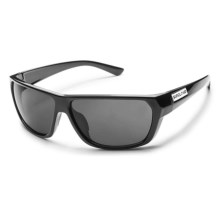 Suncloud Feedback Sunglasses - Polarized in Black/Gray - Closeouts