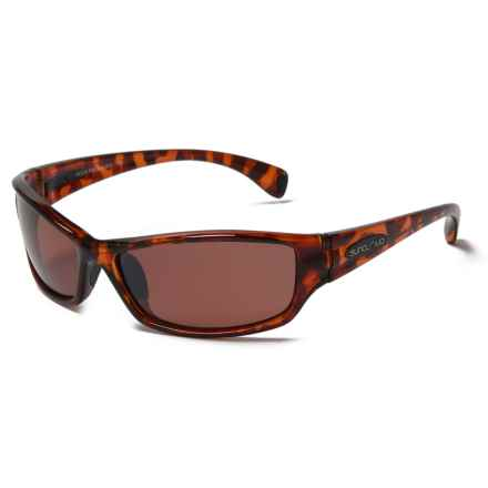 Suncloud Hook Sunglasses - Polarized in Tortoise/Polar Rose - Closeouts