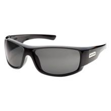 SunCloud Impulse Sunglasses - Polarized in Black/Grey - Closeouts