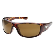 SunCloud Impulse Sunglasses - Polarized in Tortoise/Brown - Closeouts