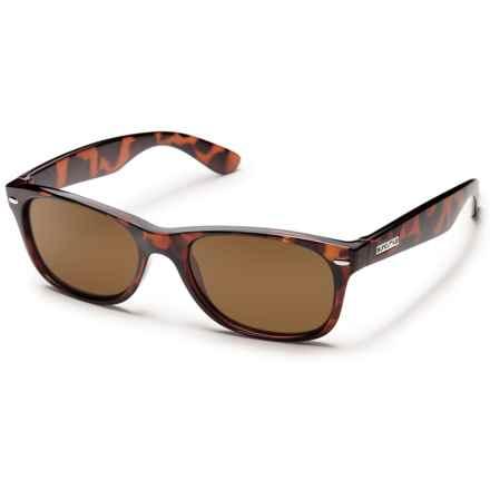 Suncloud Jasmine Sunglasses - Polarized (For Women) in Tortoise/Brown - Overstock