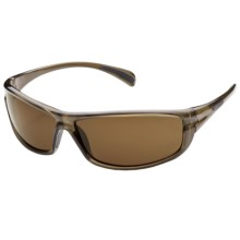 Suncloud King Sunglasses - Polarized in Brown/Brown - Closeouts