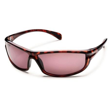 Suncloud King Sunglasses - Polarized in Tortoise/Rose