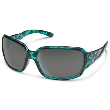 b7d0a8802d Suncloud Laurel Sunglasses - Polarized (For Women) in Petrol Tortoise Gray