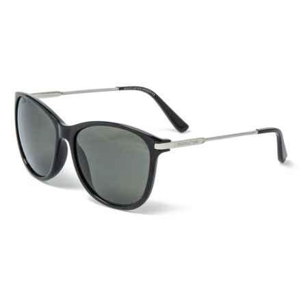 35bca92411 Suncloud Nightcap Sunglasses - Polarized Mirror Lenses in Black Gray