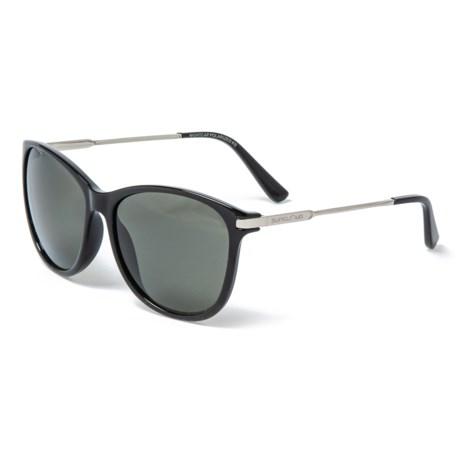 b680cf4dfe4 Suncloud Nightcap Sunglasses - Polarized Mirror Lenses in Black Gray