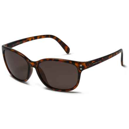 Suncloud Polarized Optics Flutter Sunglasses (For Women) in Tortoise/Polar Brown - Closeouts
