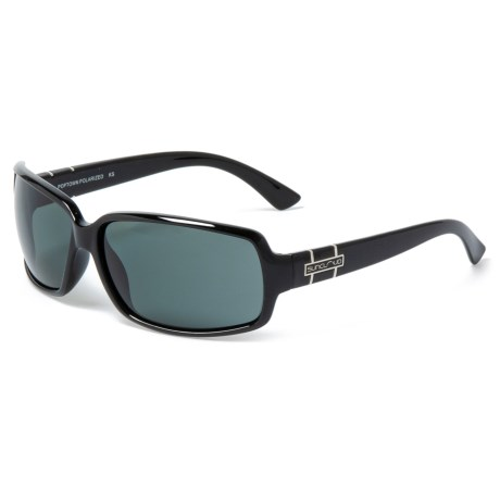 4c78ac35909 Suncloud Poptown Sunglasses - Polarized (For Men and Women) in Black Gray