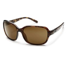 Suncloud Sequin Sunglasses - Polarized (For Women) in Tortoise/Brown - Closeouts