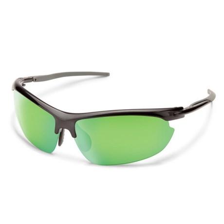 28e3d212d04b Suncloud Slant Mirror Sunglasses - Polarized, Extra Lens (For Men) in Steel/
