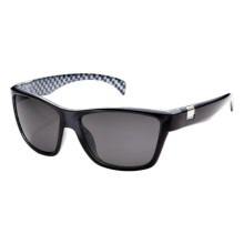 Suncloud Speedtrap Sunglasses - Polarized in Black/Grey - Closeouts