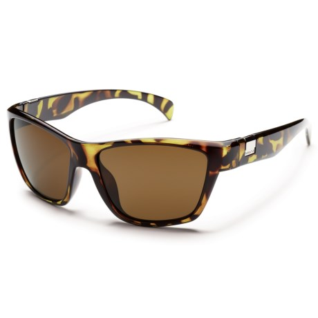Suncloud Speedtrap Sunglasses - Polarized in Tortoise/Brown