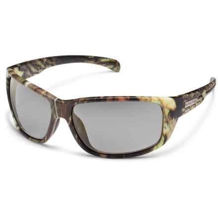 Suncloud SunCloud Milestone Sunglasses - Polarized in Matte Camo/Polar Gray - Closeouts