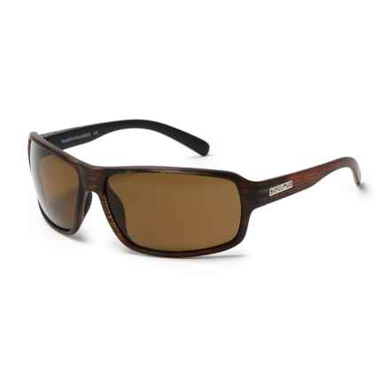 Suncloud SunCloud Tailgate Sunglasses - Polarized in Burnished Brown/Polar Brown - Closeouts