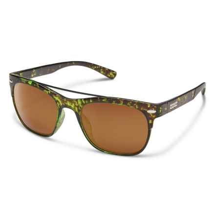 e854cabbdc00 Suncloud Tabor Sunglasses - Polarized (For Women) in Treehouse  Tortoise Brown