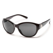 Suncloud Twilight Sunglasses - Polarized (For Women) in Black/Gray - Closeouts