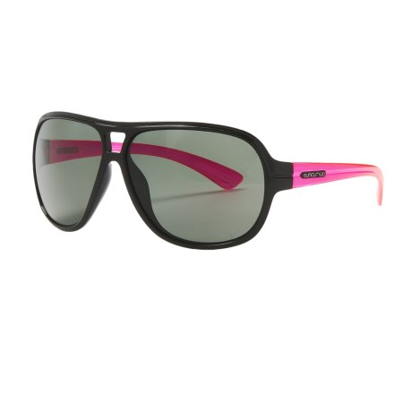 Suncloud Wingman Sunglasses - Polarized in Black Pink/Grey