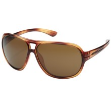 Suncloud Wingman Sunglasses - Polarized in Tortoise/Brown - Closeouts