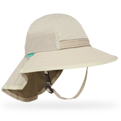 Sunday Afternoons Adventure Hat - UPF 50+ (For Little and Big Kids) in Cream/Sand