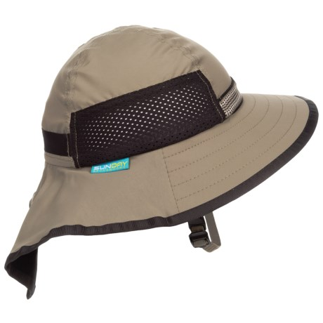Sunday Afternoons Adventure Hat - UPF 50+ (For Little and Big Kids) in Sand/Black