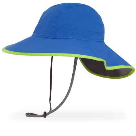 Sunday Afternoons Cloudburst Hat - Waterproof (For Little and Big Kids) in Royal/Charcoal - Closeouts