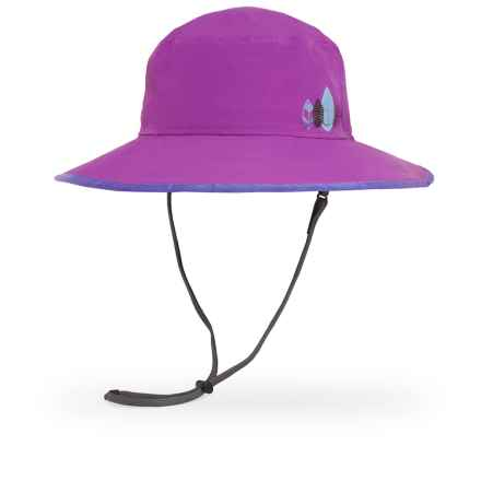 Sunday Afternoons Drizzle Hat - Waterproof (For Little and Big Kids) in African Violet/Iris - Closeouts