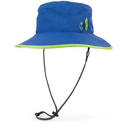Sunday Afternoons Drizzle Hat - Waterproof (For Little and Big Kids) in Royal/Charcoal - Closeouts