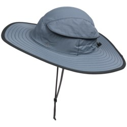 Sunday Afternoons Expedition Sun Hat - UPF 50+ (For Men and Women) in Chambray