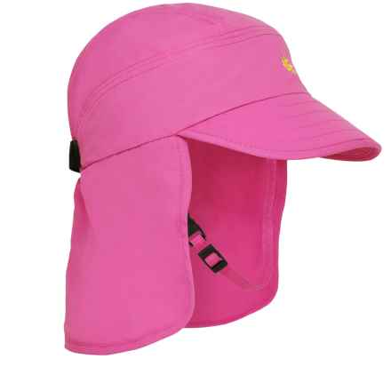Sunday Afternoons Explorer Cap - UPF 50+ (For Infants) in Fuchsia - Closeouts