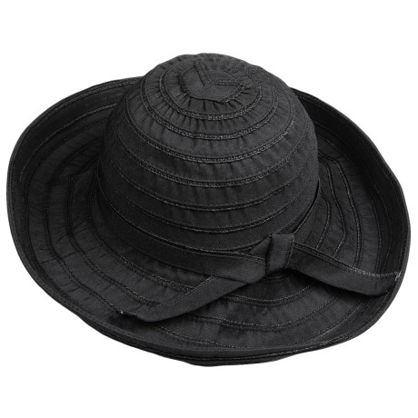 Sunday Afternoons Garden Hat - UPF 50+ (For Women) in Black