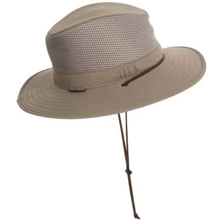 Sunday Afternoons Highlander Hat - UPF 50+ (For Big Kids) in Sand/Black - Closeouts
