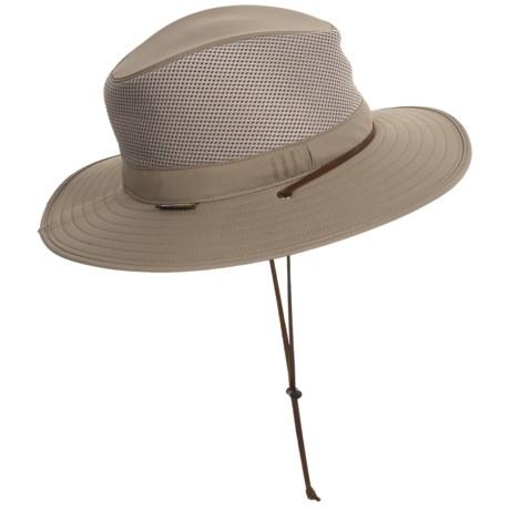 Sunday Afternoons Highlander Hat - UPF 50+ (For Big Kids) in Sand/Black