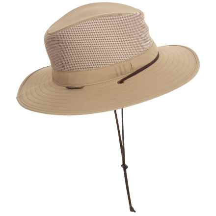 Sunday Afternoons Highlander Hat - UPF 50+ (For Big Kids) in Tan/Chaparral - Closeouts