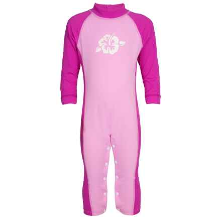 Sunday Afternoons Kiddie Pool Full-Body Swimsuit - UPF 50+ (For Infants) in Seashell Pink - Closeouts