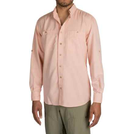 Sunday Afternoons Oasis Shirt - UPF 50+, Long Sleeve (For Men) in Coral - Closeouts